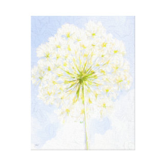 Queen Anne's Lace Canvas Wall Decor