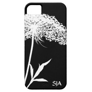 Queen Anne's Lace Design iPhone 5 Case