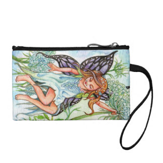 Queen Anne's Lace Fairy Coin Purse