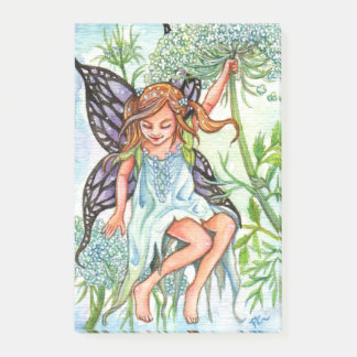 Queen Anne's Lace Fairy Post-it Notes