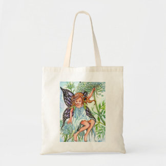 Queen Anne's Lace Fairy Tote Bag