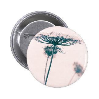 Queen Anne's Lace Flower 6 Cm Round Badge