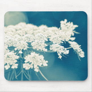 Queen Anne's Lace Flowers Mouse Pad