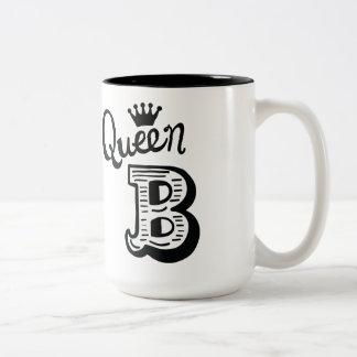 Queen B coffee mug