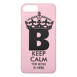 Queen B Keep Calm iPhone 8 Plus/7 Plus Case