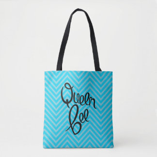 Queen Bee - Allover Print Tote Tote Bag