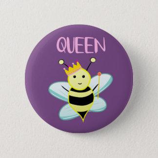 Queen BEE badge! 6 Cm Round Badge