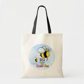 Queen Bee - Big Sister Tote Bag