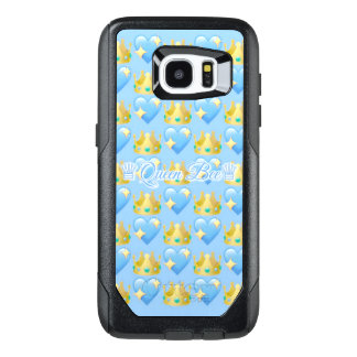 Queen Bee (Blue) Samsung Galaxy S7 Edge Otterbox