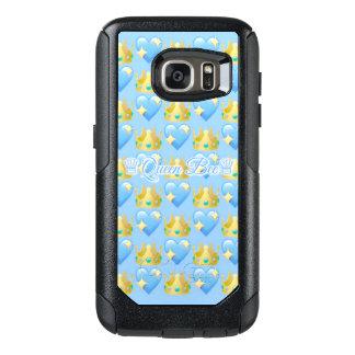 Queen Bee (Blue) Samsung Galaxy S7 Otterbox Case