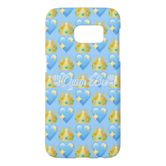 Queen Bee (Blue) Samsung Galaxy S7 Phone Case