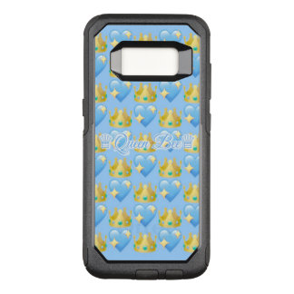 Queen Bee (Blue) Samsung Galaxy S8 Otterbox Case