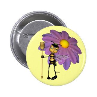 Queen Bee Button