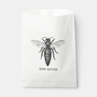 Queen Bee Classic Illustration Favour Bag