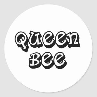 Queen Bee Classic Round Sticker