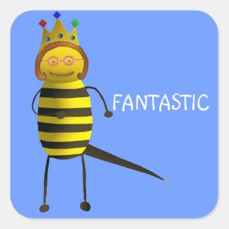 Queen Bee, Fantastic Square Sticker