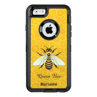 Queen Bee Honeybee Honeycomb Pretty | Add Name OtterBox iPhone 6/6s Case