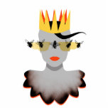 Queen Bee Image Sculpture Cut Outs