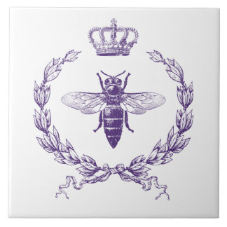 Queen Bee Large Square Tile