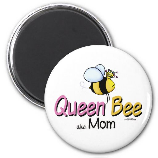 Queen Bee Mom of Twins button Refrigerator Magnet