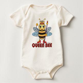 Queen Bee Organic Baby Bodysuit
