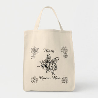 Queen Bee: Personalized Tote by Sonja A.S.