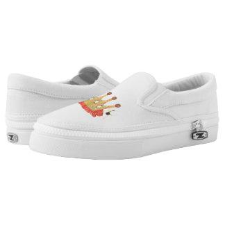 Queen Bee Slip On Shoes