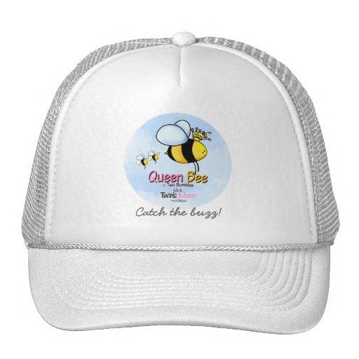 Queen Bee - Twins Mom Trucker Hats