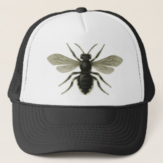 Queen Bee Yellow Black Save The Bees Trucker Hat