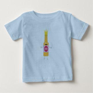 Queen Beer bottle with crone Zfq4y Baby T-Shirt