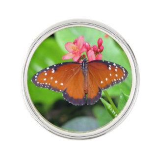 Queen Butterfly Lapel Pin