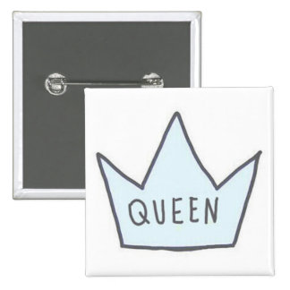 'Queen' Button
