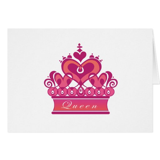 Queen Greeting Cards