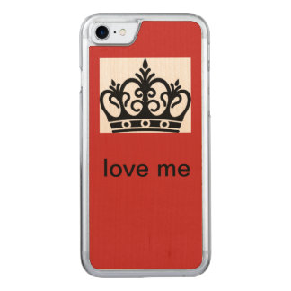 Queen Carved iPhone 8/7 Case