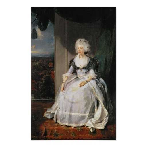 Queen Charlotte, 1789-90, wife of George III Posters