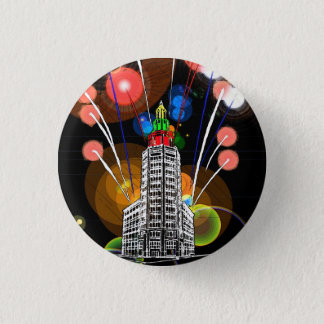 Queen City New Year 3 Cm Round Badge