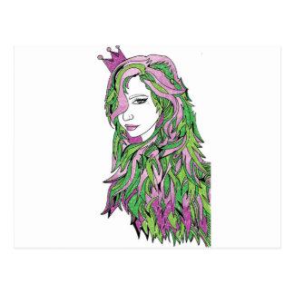 Queen Confidence Postcard