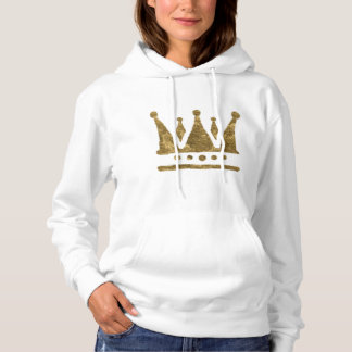 Queen Crown Hooded Sweatshirt