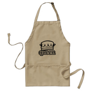 Queen ~ Crown Royal Royalty Standard Apron
