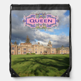 QUEEN Drawstring Backpack