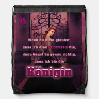 Queen Drawstring Bag