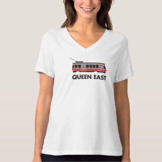 Queen East (Toronto) Streetcar t-shirt