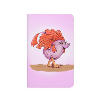 QUEEN EGGIE ALIEN MONSTER CARTOON Pocket Journal