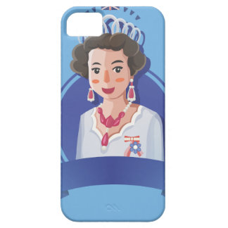 queen elizabeth 2 barely there iPhone 5 case