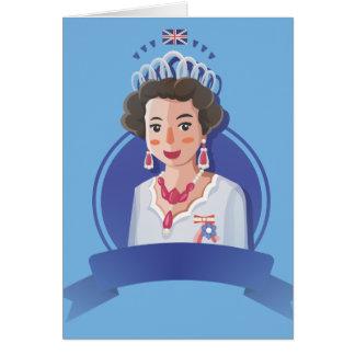 queen elizabeth 2 card