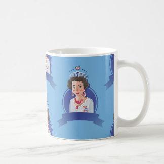 queen elizabeth 2 coffee mug