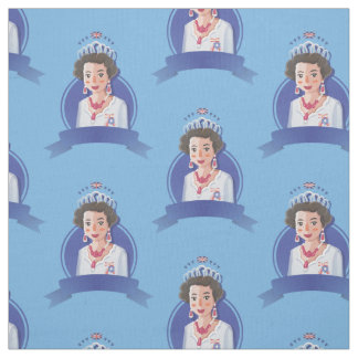 queen elizabeth 2 fabric
