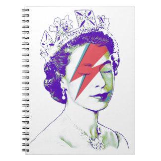 Queen Elizabeth   Aladdin Sane Notebook