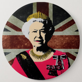 Queen Elizabeth button