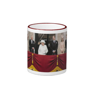 Queen Elizabeth Diamond Jubilee commemorative mug